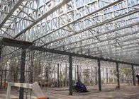 3 - 8 M Height Clear Polycarbonate Greenhouse For Vegetable Planting With Solar PV Power