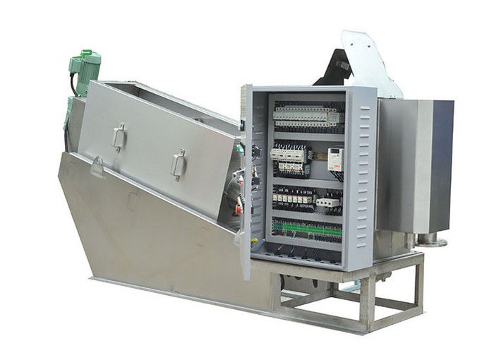 Stainless multi - disc dewatering machine fully automatic filter press