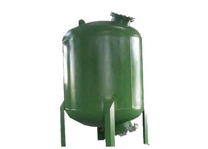 Iron And Manganese Removal Mechanical Water Filter Tank With Rubber Lined Mild Steel Dn150 36m3/H