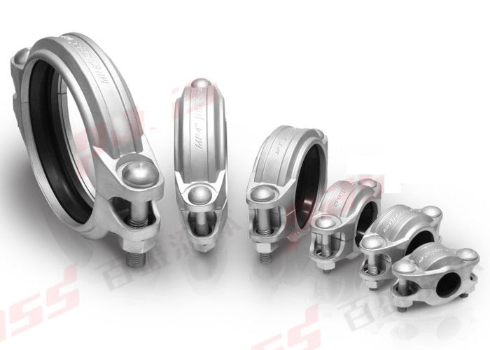 600psi Stainless Steel Grooved Piping Systems For Quick Pipe Joint Connection DN20 - DN300