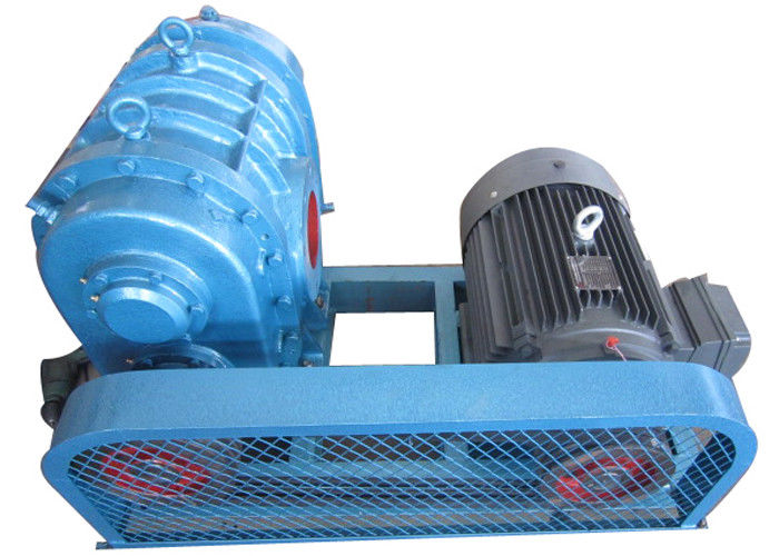 Water treatment Tri-lobe Roots Blower 1150rpm to 1800rpm / rotary lobe blower