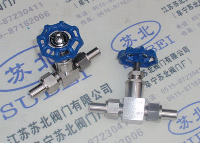 Weld threaded Globe valve for plating solution PN80 Mpa DN2 to DN65