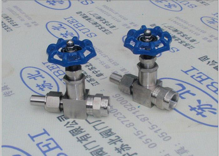 Cutting ferrule Globe valve for pressure gauge PN0.6 Mpa to PN80 Mpa DN2 to DN65